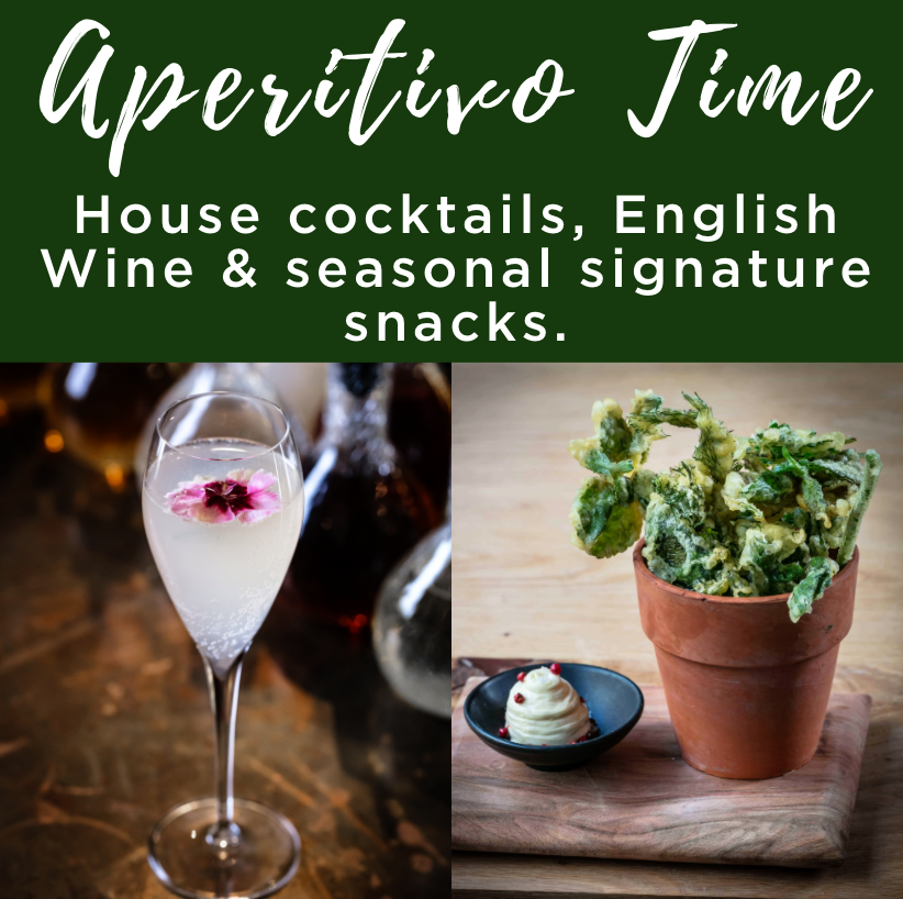 Aperitivo Time and English Wine Offer