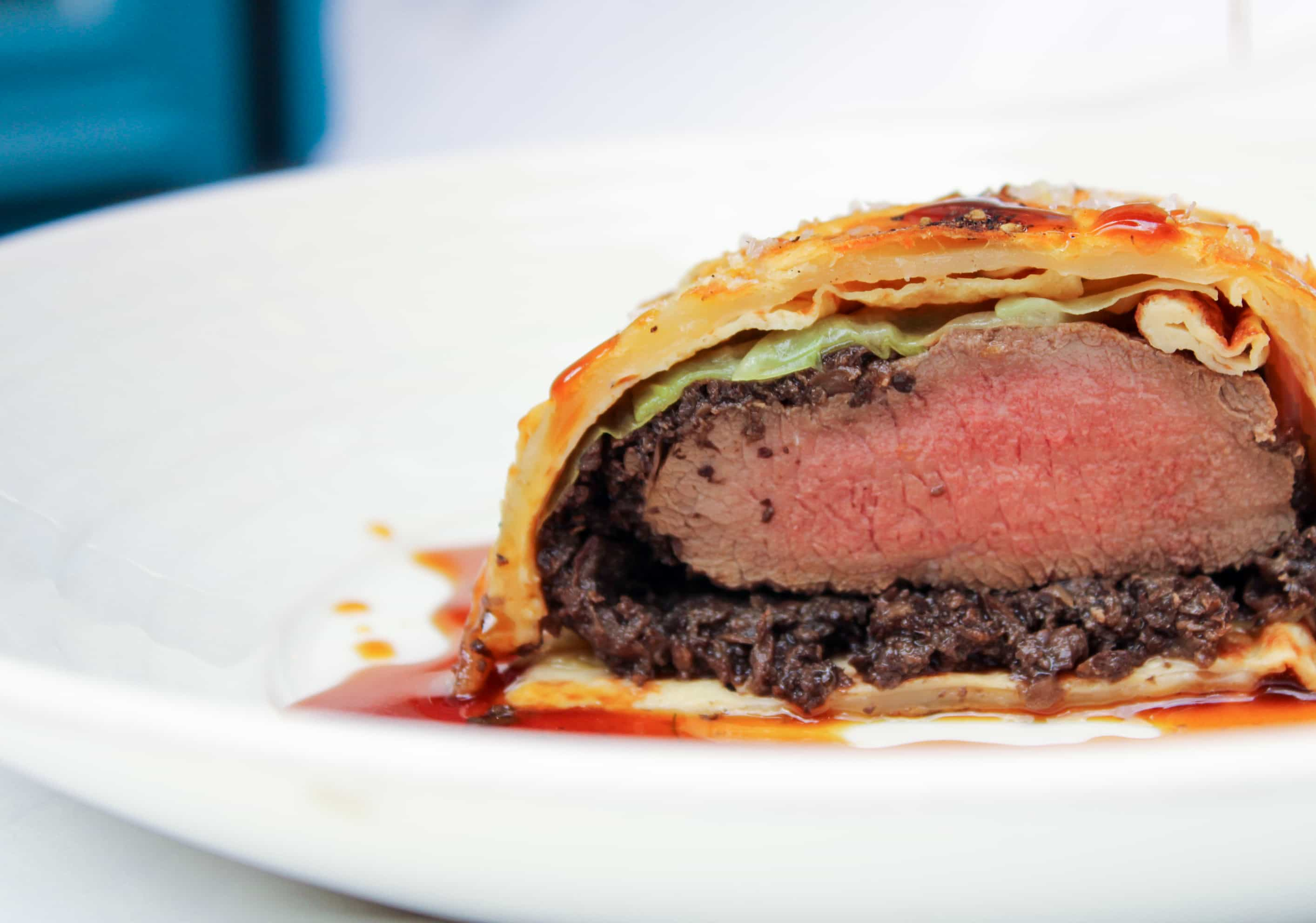 Beef Wellington (serves 2-3 people)