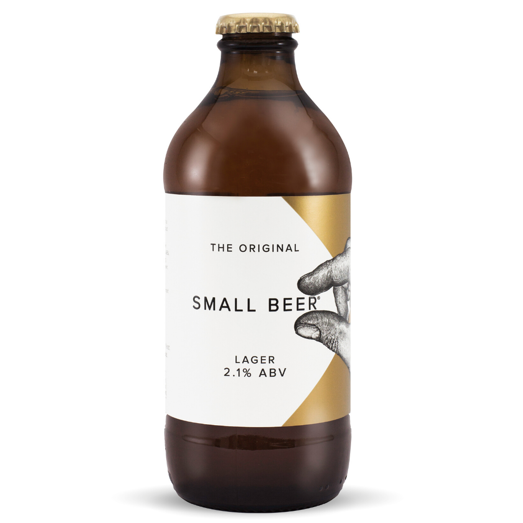 Small Beer Lager 6 PACK (2.1% ABV)