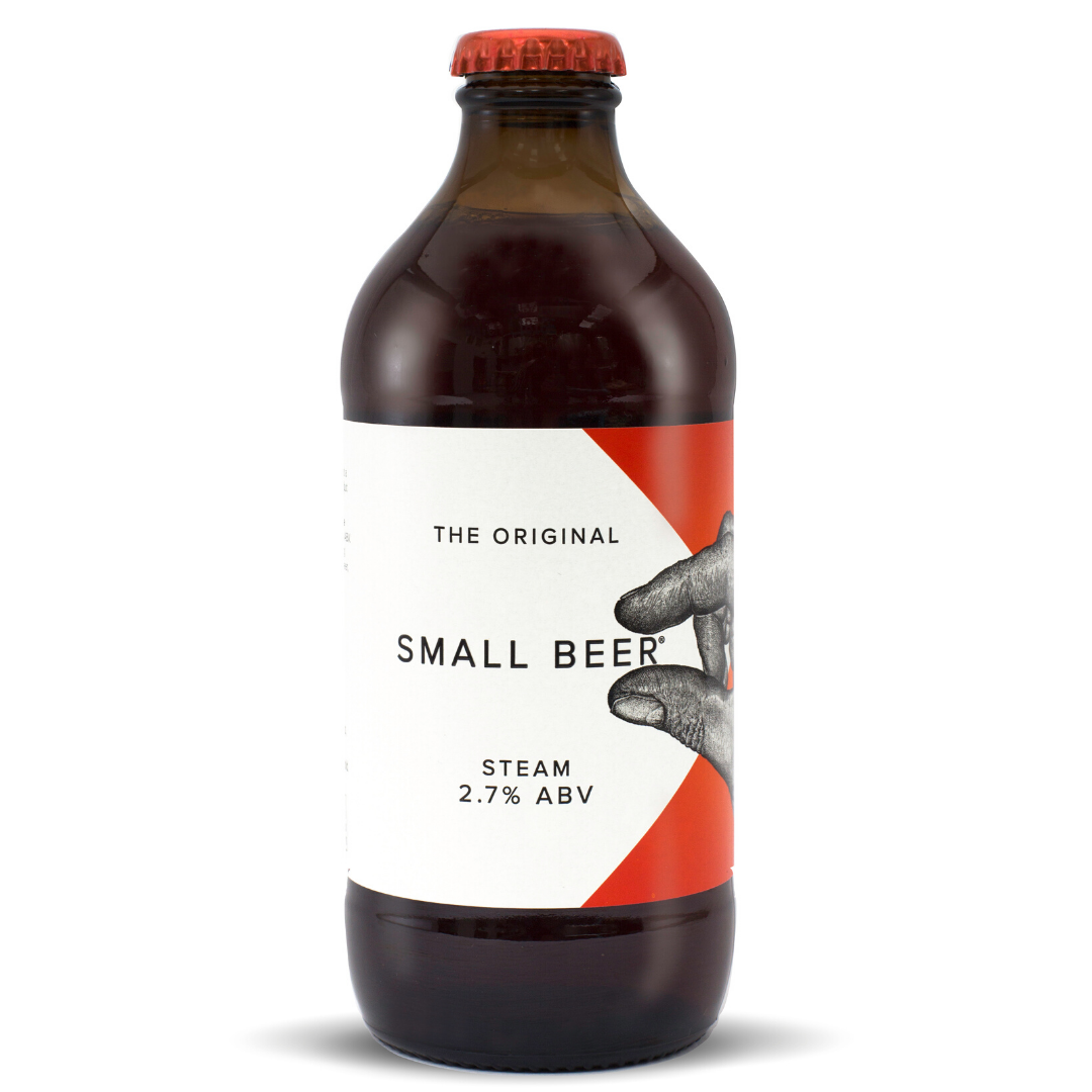 Small Beer Steam 6 PACK (2.7% ABV)