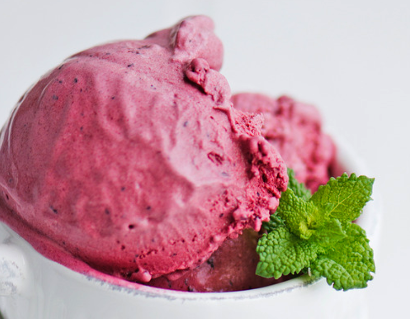 Hazelnut & Blueberry compot Ice Cream (340ml)