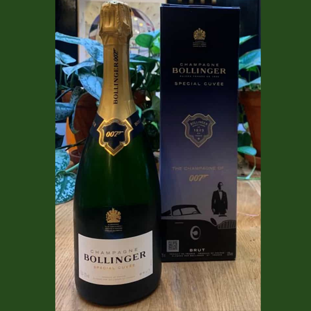 Limited Edition 007 Bond, Bollinger, Special Cuvée