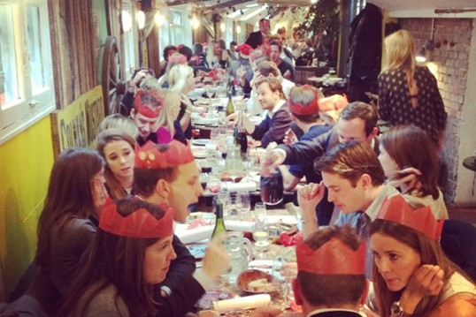 Christmas parties at The Shed